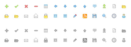Free web development icons #1