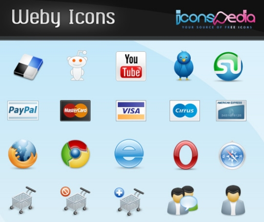 Weby Icons