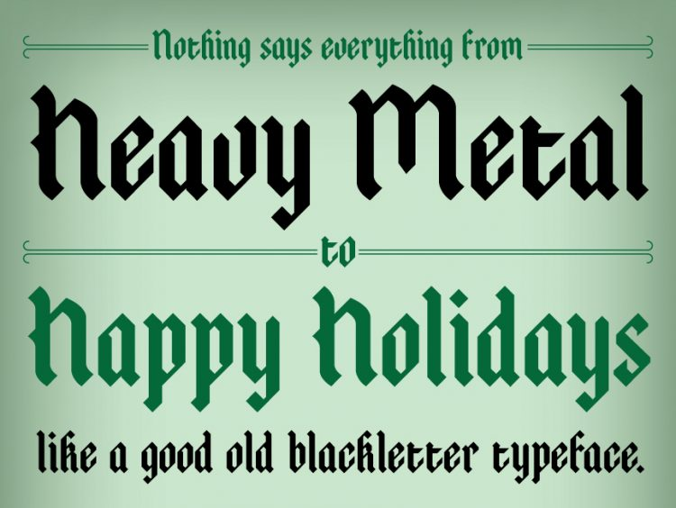 20 Free Seasonal Fonts to Brighten Your Holiday Projects — Atreyu