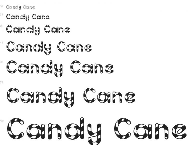 20 Free Seasonal Fonts to Brighten Your Holiday Projects — Candy Cane