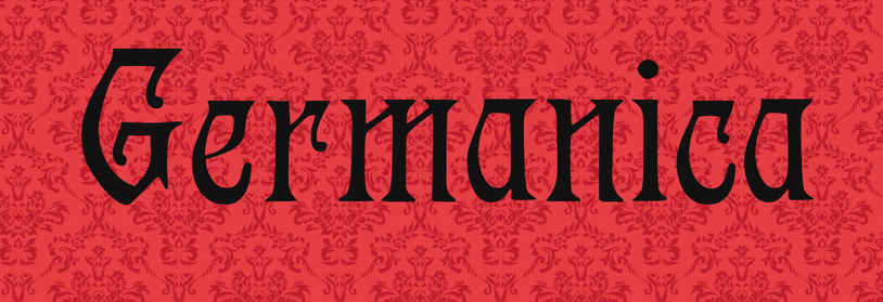 In brief, Germanica has Gothic and medieval typefaces
