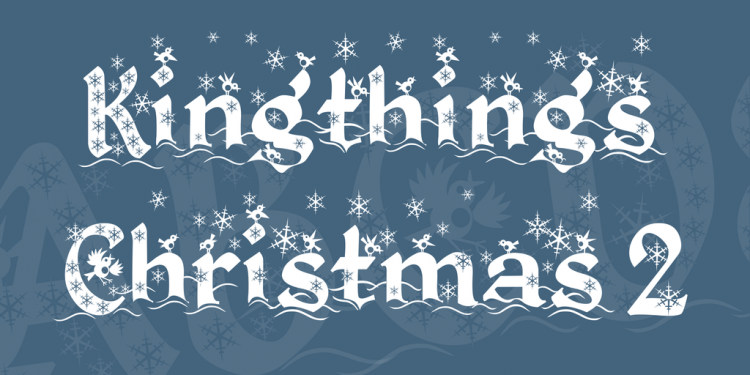 20 Free Seasonal Fonts to Brighten Your Holiday Projects — Kingthing's Christmas 2
