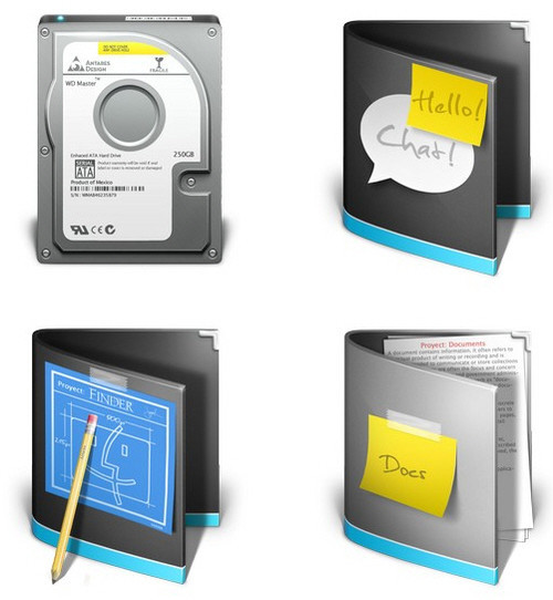 Freebies Icons - VistaIcons.com - Download Antares Complete Pack : 100 Free Vista Style icons