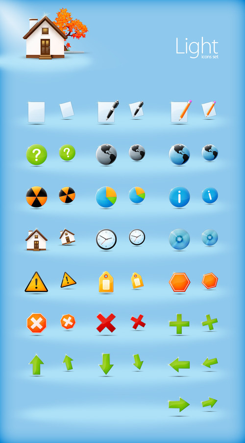 Freebies Icons - Light Icons by ~sone-pl