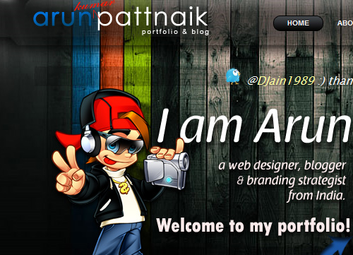 Illustrative Web Design - Background