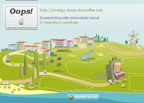 Illustrative Web Design - Mini World