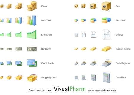 VisualPharm Finance Icons
