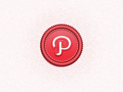 stitched path icon social network freebie psd