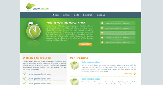 greefies-solution-css-xhtml-template