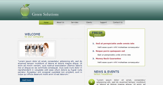 green-apple-solutions-xhtml-css-template