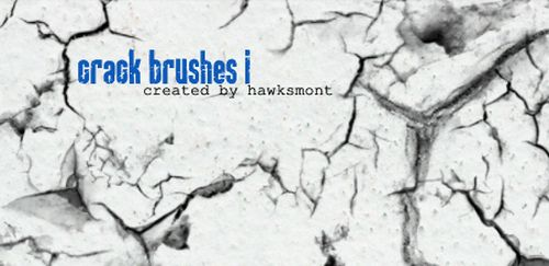 Crack Brushes by hawksmont Universe