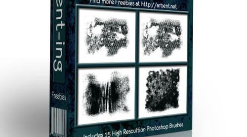 Grunge Textures Photoshop Brush Pack