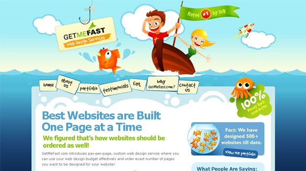Affordable Web Design Company, Professional Web Design Company - GetMeFast