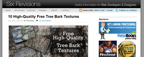 Six Revisions Texture - Free Texture Resource