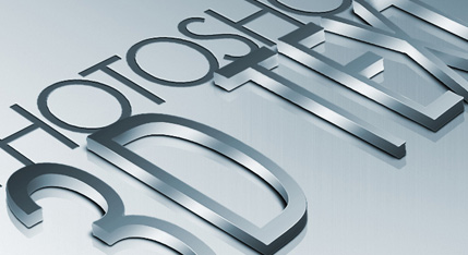 How to Create High Quality Metal 3D Text in Photoshop